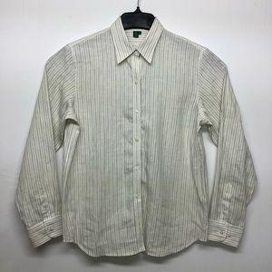 Ralph Lauren Size M 100% Linen Shirt